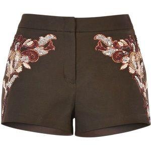 BCBG Maxazria Cheyanne Shorts Size Small